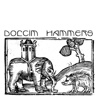 "Hammers / Dolcim Split 7"" cover art"