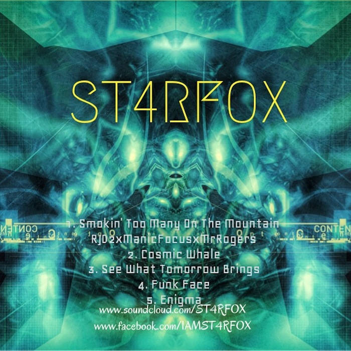 ST4RFOX cover art