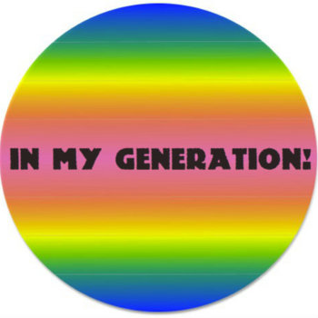IN MY GENERATION! (Single) cover art