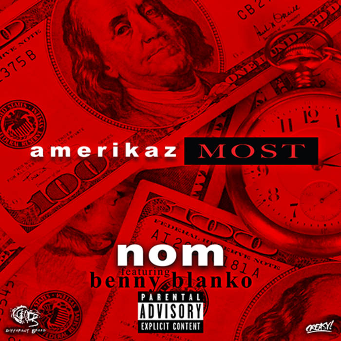 Amerikaz Most (Feat Benny Blanko) cover art
