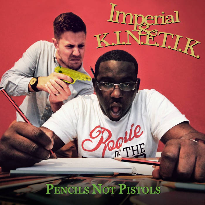 Pencils Not Pistols cover art
