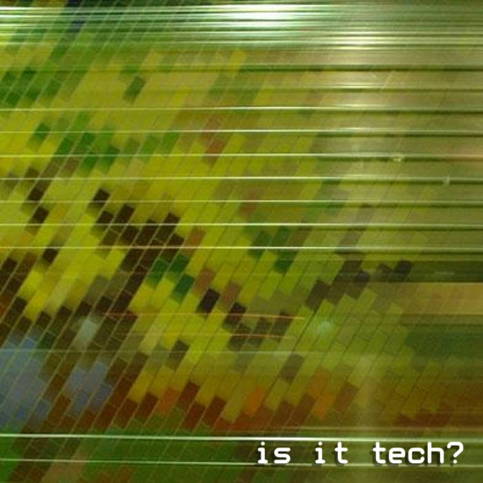 is it tech? cover art