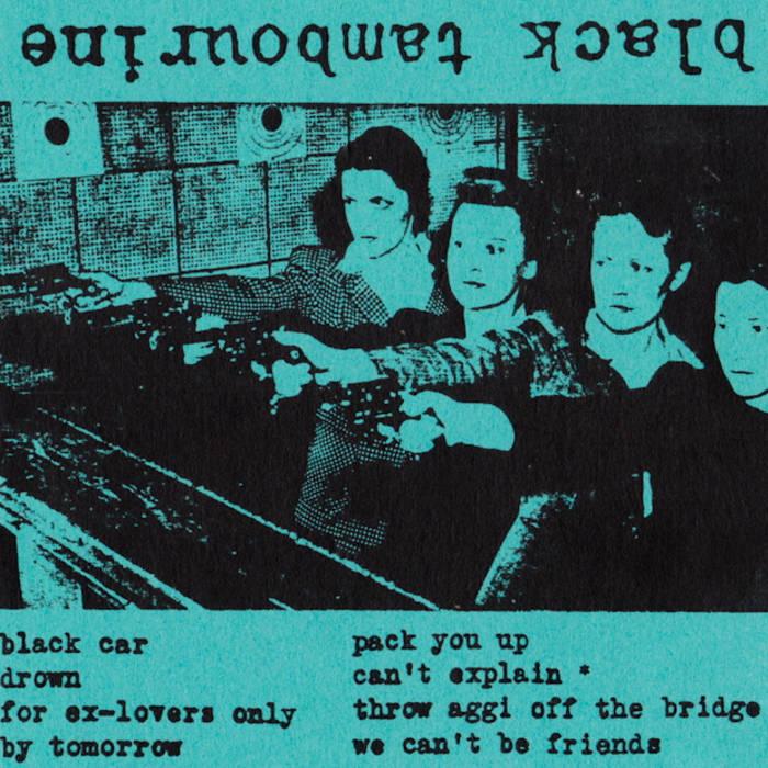 black tambourine cassette cover art