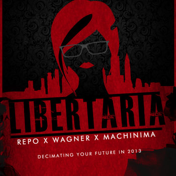 Libertaria: The Virtual Opera Soundtrack cover art