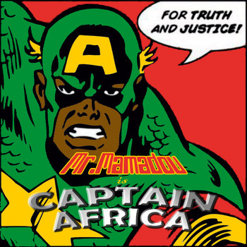 CAPTAIN AFRICA cover art