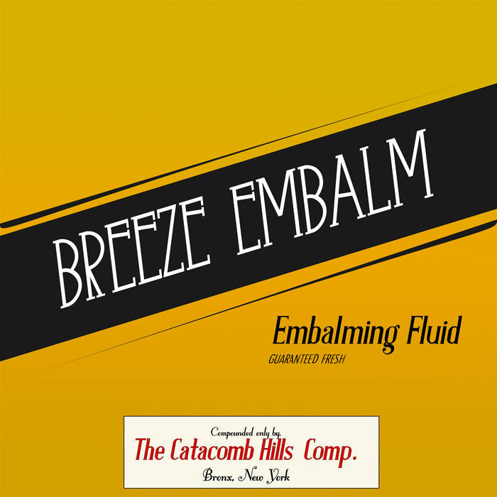 Embalming Fluid cover art
