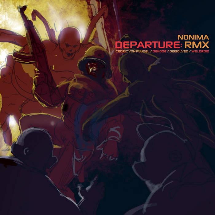Departure:RMX cover art
