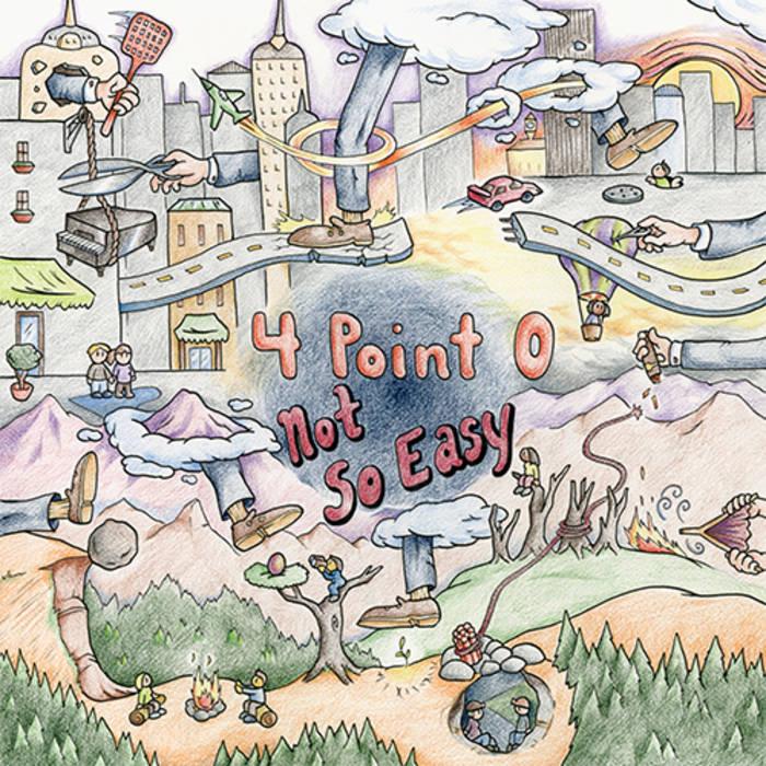 Not So Easy EP cover art