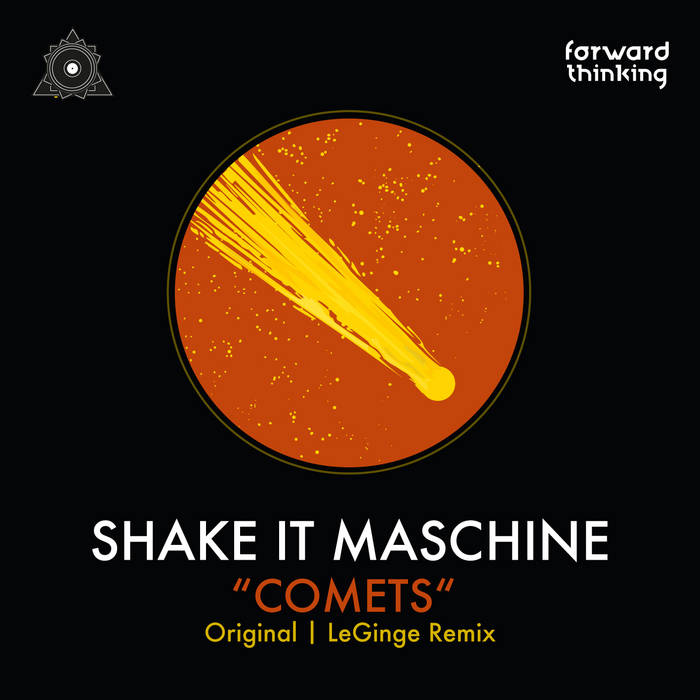 Shake It Maschine - Comets EP cover art