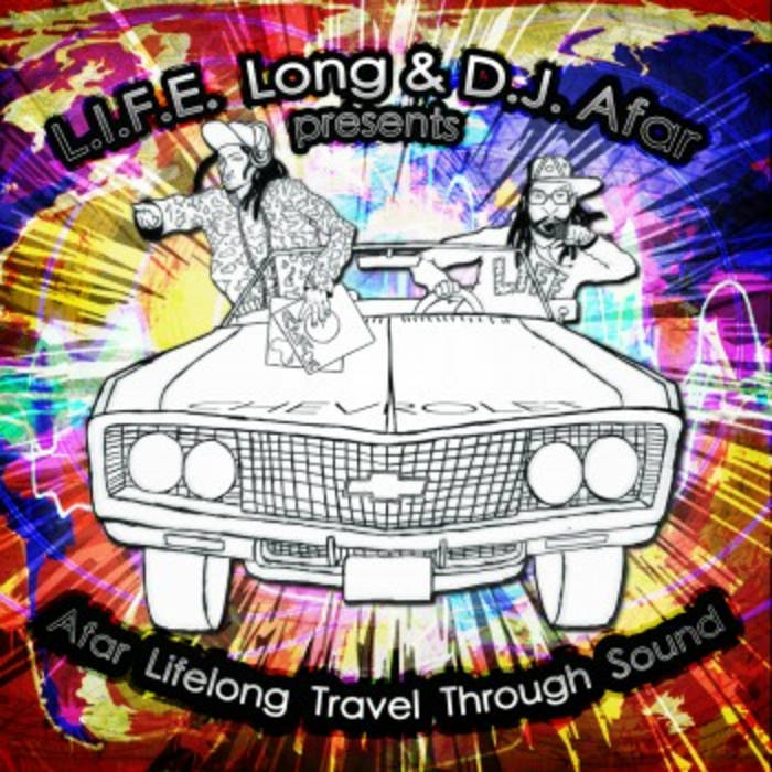 Afar L.I.F.E.LONG Travel Through Sound cover art