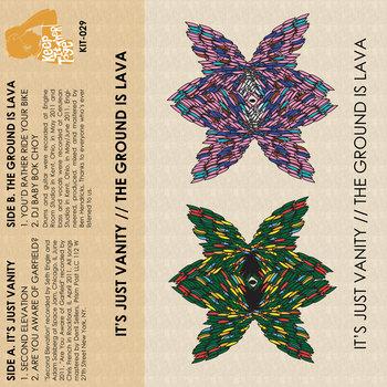 It's Just Vanity & The Ground Is Lava - Split cover art