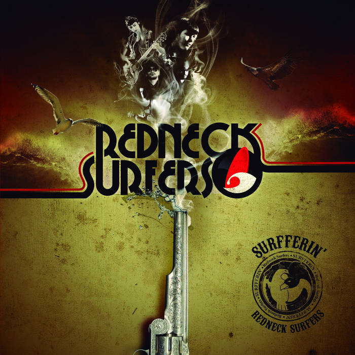 SURFFERIN´ LP 2013 cover art