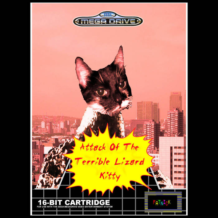 Attack of The Terrible Lizard Kitty: Video Game OST cover art