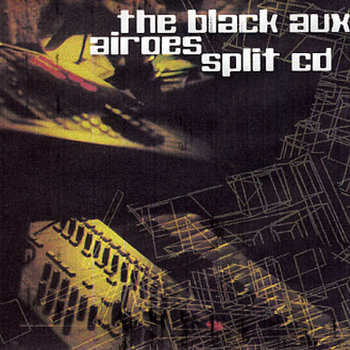 Airoes / The Black Aux split demo cd cover art