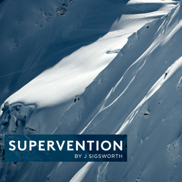 Supervention Soundtrack cover art
