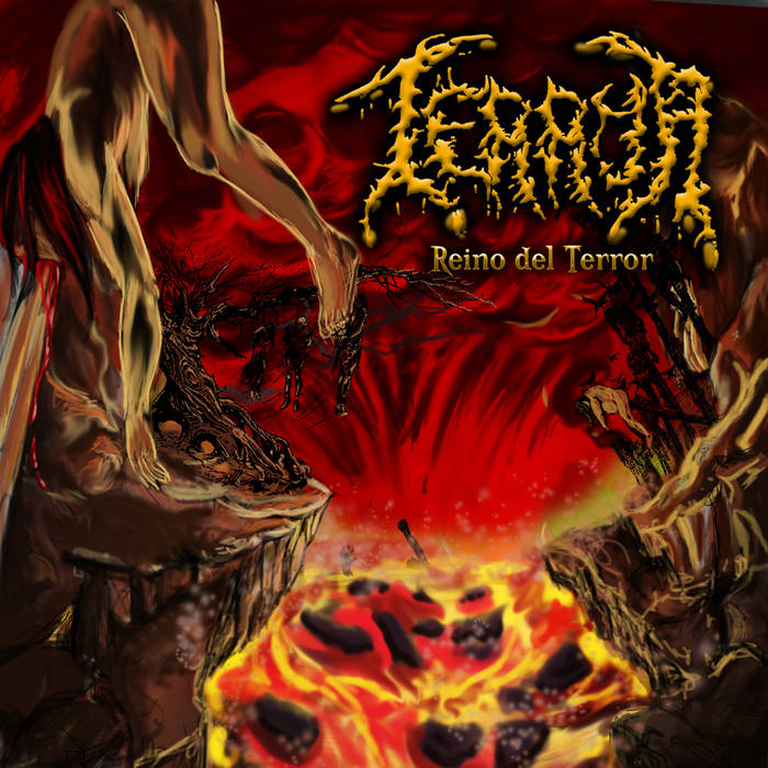 "TERROR ""Reino Del Terror"" CD  SOLD OUT cover art"
