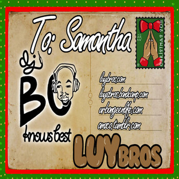 To: Samantha cover art
