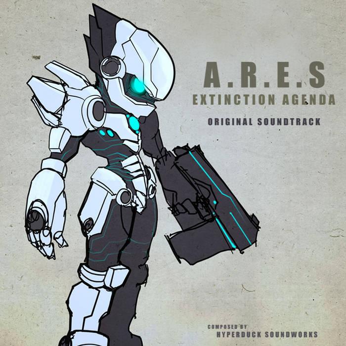 A.R.E.S: Extinction Agenda cover art