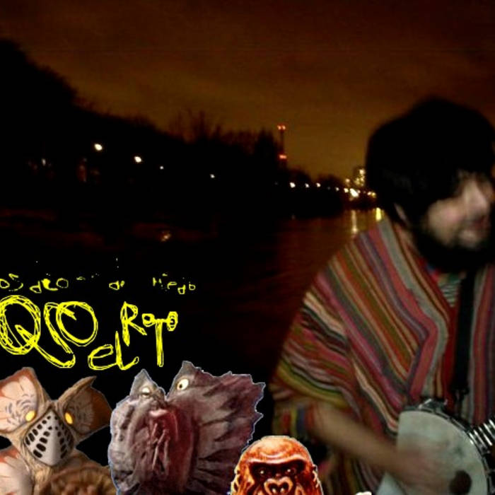 "Oso el roto - ""Dictasuave"" (lp) LINGE018 cover art"