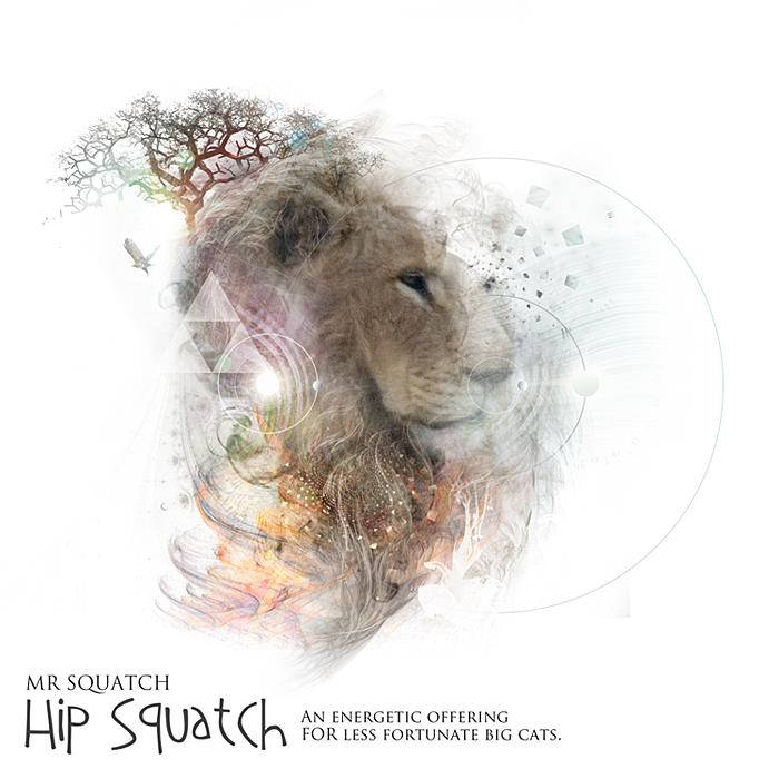 Hip Squatch - An Energetic offering for less fortunate Big Cats cover art