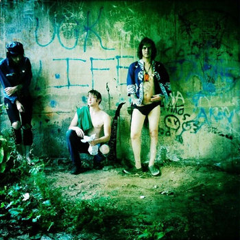 "PAINT FUMES ""Uck Life"" LP cover art"