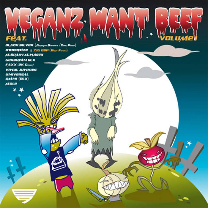 VEGANZ WANT BEEF cover art