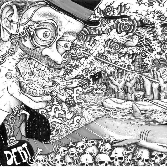 The B1G1F e.p cover art