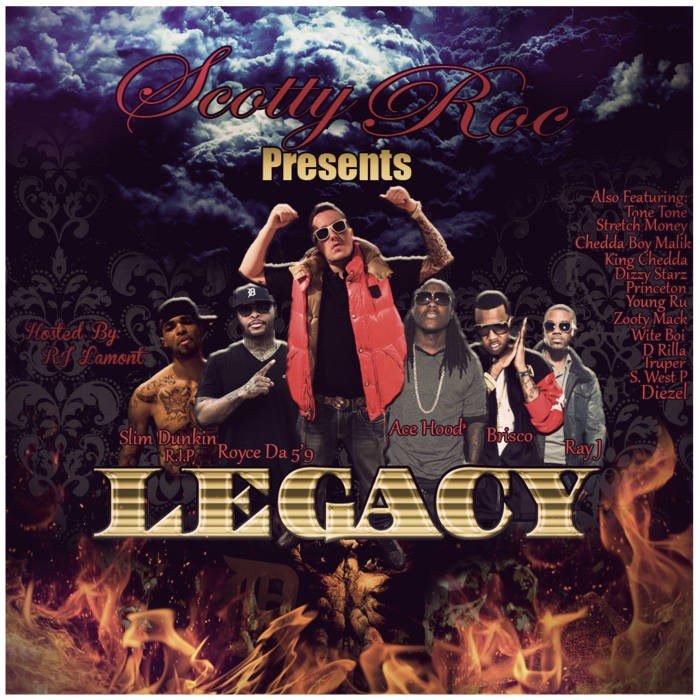 Scotty Roc Presents LEGACY cover art