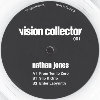 Nathan Jones - From Ten to Zero EP cover art