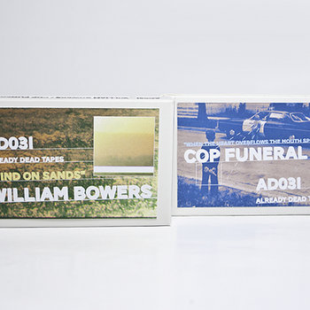 AD031 William Bowers/Cop Funeral 'Split' cover art