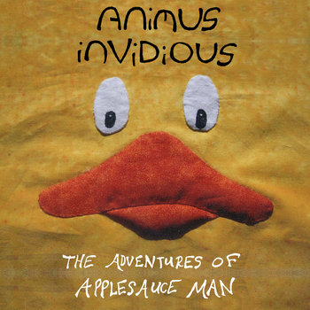 The Adventures of Applesauce Man cover art