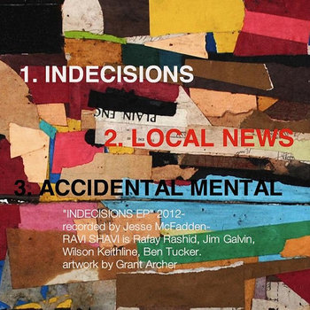 INDECISIONS EP cover art