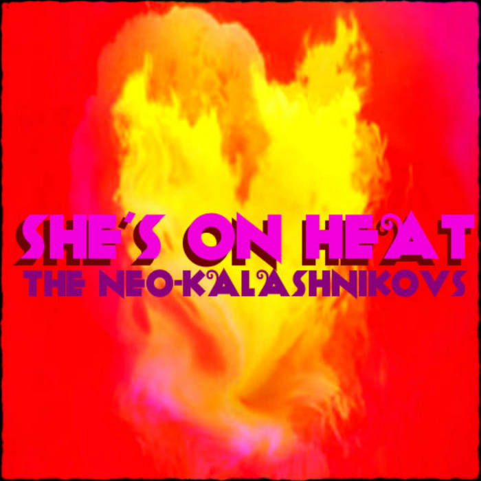 She's on Heat cover art