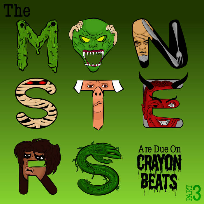The Monsters Are Due On CrayonBeats (Part 3) cover art