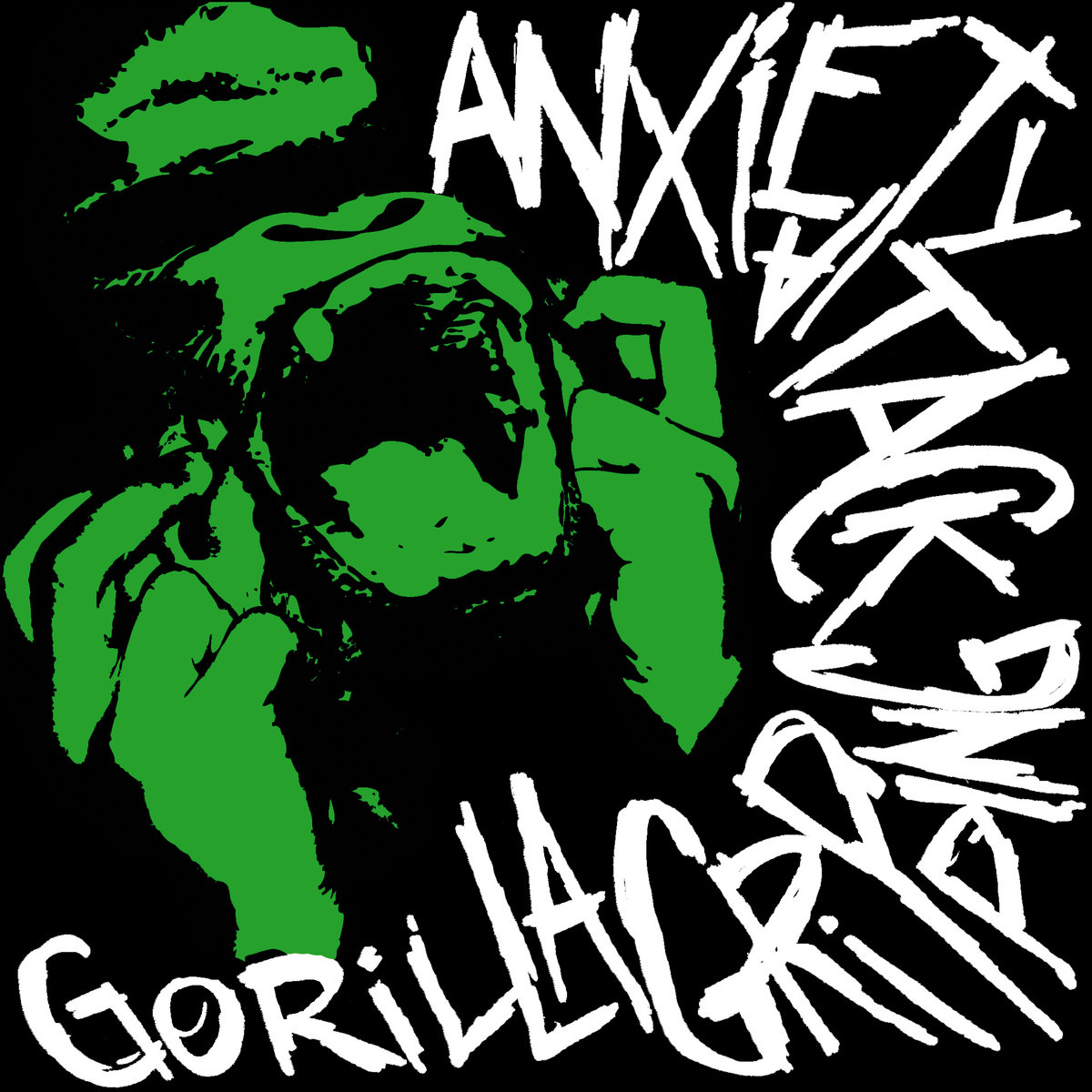 anxiety attack gorilla gripping split ep by anxiety attack gorilla    Anxiety Attack Art