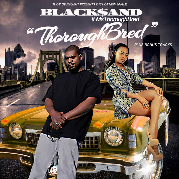 BLACK SAND FT MS THOURILLBREAD - THOURILLBREAD cover art