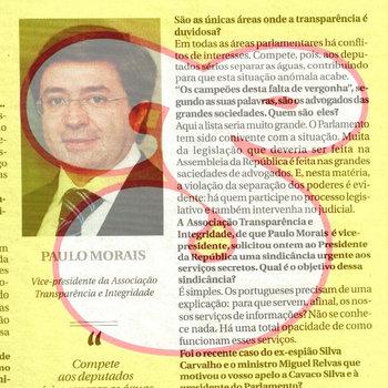 """apresenta: """"Corrupção em Portugal por Paulo Morais"""" Songified cover art"""