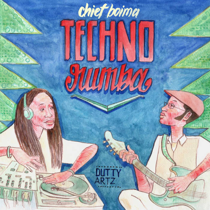 Techno Rumba - EP cover art