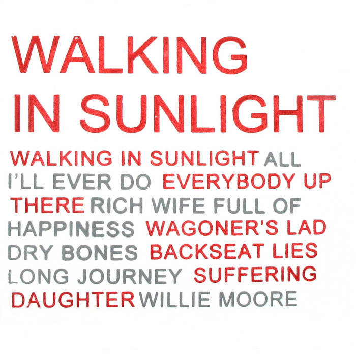 Walking in Sunlight cover art