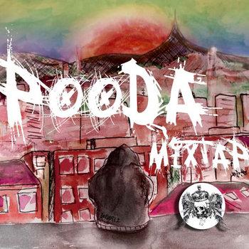 Pooda mixtape cover art