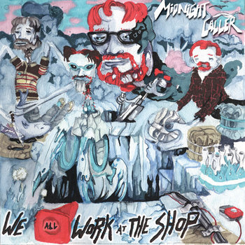 We all work at the shop cover art