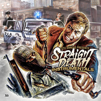 """Straight Death"" Instrumentals cover art"