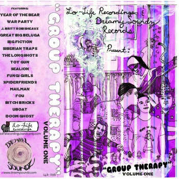 """Group Therapy"" Vol. 1 cover art"