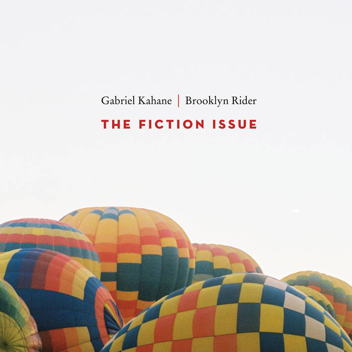 The Fiction Issue cover art