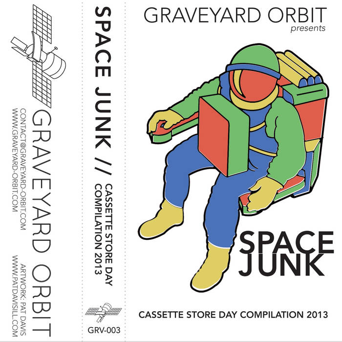 SPACE JUNK: Cassette Store Day Compilation 2013 cover art
