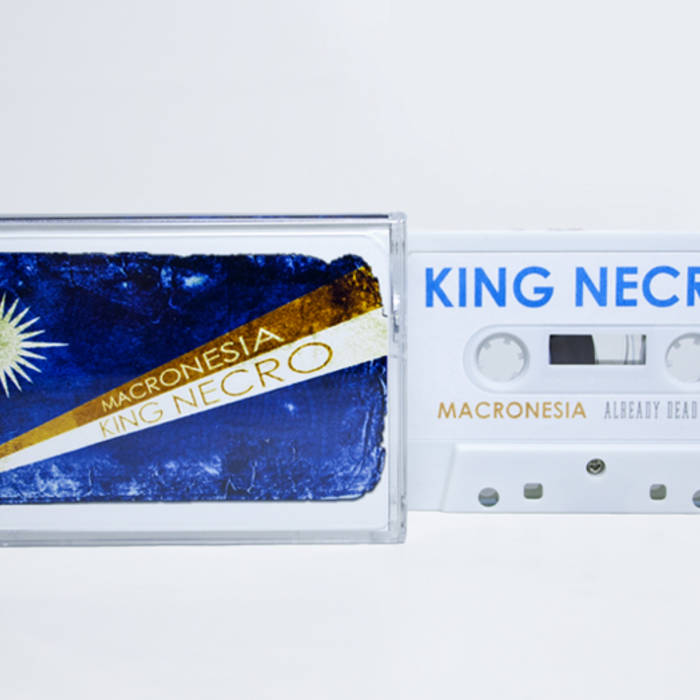 AD035 King Necro 'Macronesia' cover art