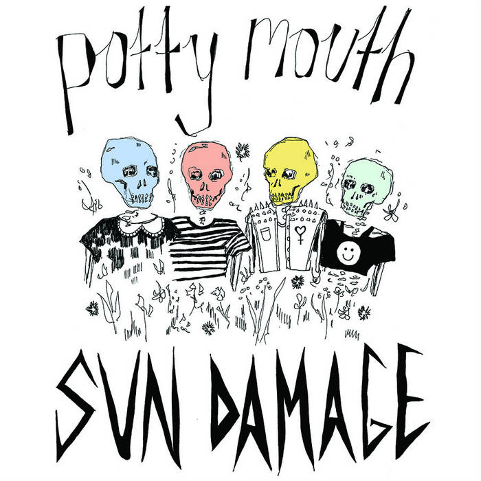 "SUN DAMAGE 12"" EP cover art"