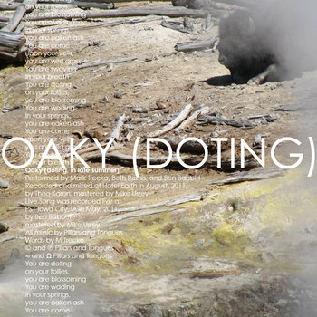 Oaky (doting, in late summer) cover art
