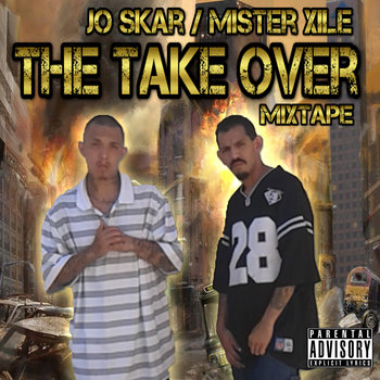 The Take Over Mixtape cover art