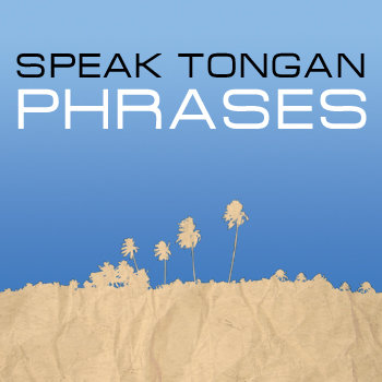SPEAK TONGAN - PHRASES cover art